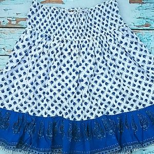 🎈Womens Twirly Girly Summer Floral Skirt M